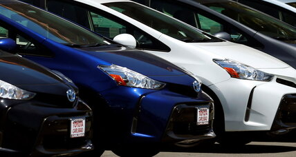 How many hybrids does Toyota make per year?
