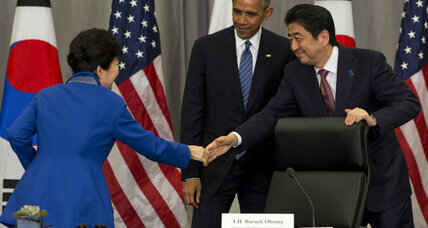 President Obama's balancing act during visit to Japan