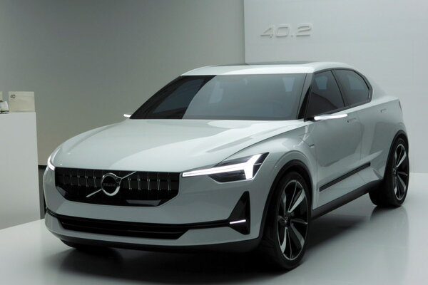 volvo will build compact electric car in 2019 along with larger model. Black Bedroom Furniture Sets. Home Design Ideas