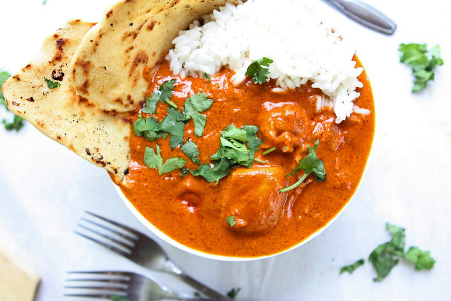Indian butter chicken - CSMonitor.com