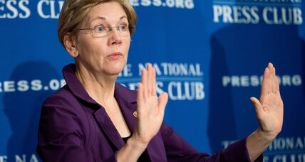Who fights for the middle class? Elizabeth Warren, Donald Trump trade barbs.