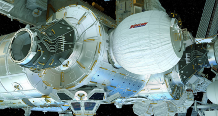 Space station astronauts to test inflatable habitat