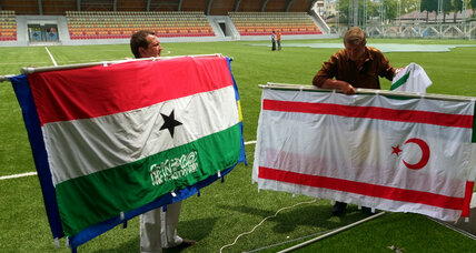 In Abkhazia, proto-states, non-nations gather for their own soccer World Cup