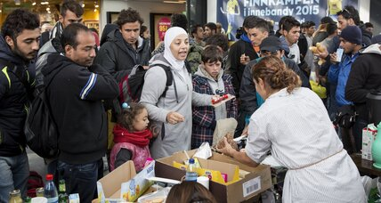 Sweden welcomed refugees to seaside towns – until the weather got nice