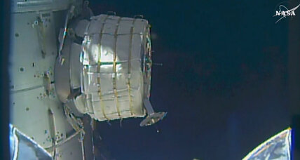 On second try, NASA inflates experimental room on space station