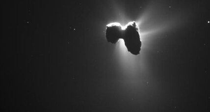 Glycine found near Rosetta: Did life on Earth begin with a comet?