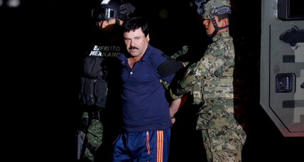 Drug lord 'Chapo' Guzman's lawyers split on extradition case