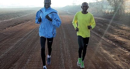 Refugee runners: Olympics fields its first team without a country