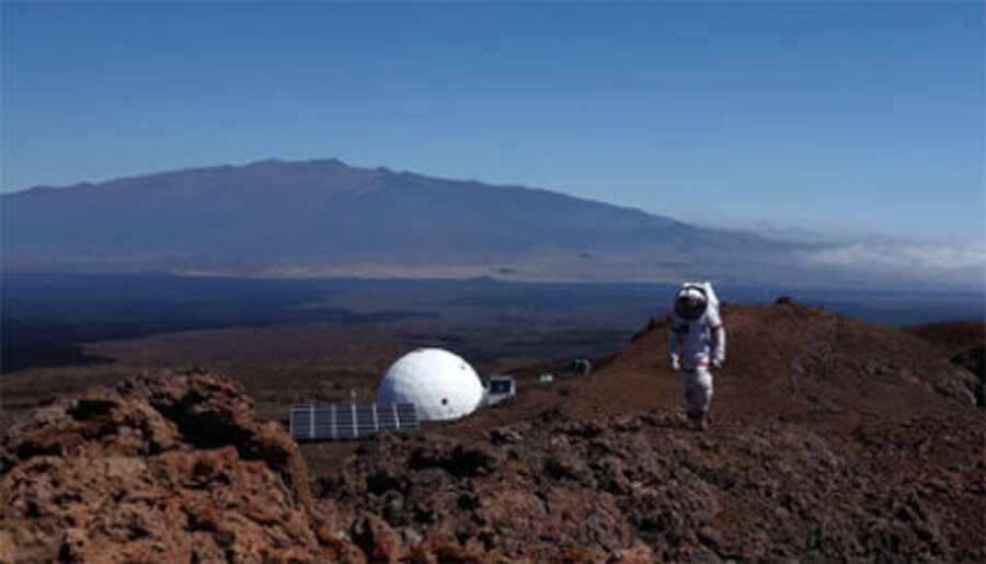 See how NASA simulates year on Mars...on Earth's largest volcano