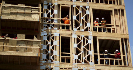 As the economy accelerates, the construction industry falters