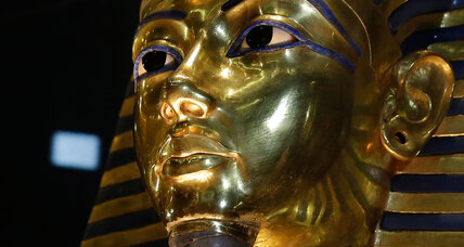 King Tut: a ruler swathed in mystery also wielded a cosmic dagger