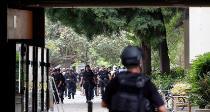 Officers swarm UCLA in massive response to murder-suicide