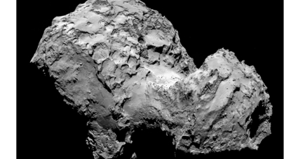 Do comets continually break apart and reassemble themselves?