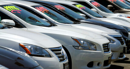 Low May car sales signal shift in auto market