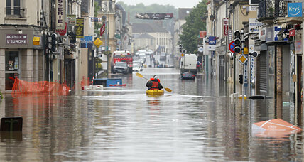 Severe flooding hits France, Germany as rivers rise above banks