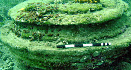 Was this underwater Greek city built by humans or microbes?