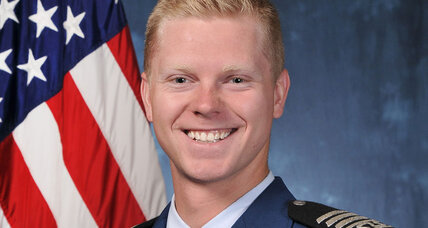After a lifetime of neglect, Air Force Academy graduate finds his wings