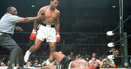 Muhammad Ali, the showman