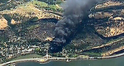 Oregon oil train derailment: A risky transport model?