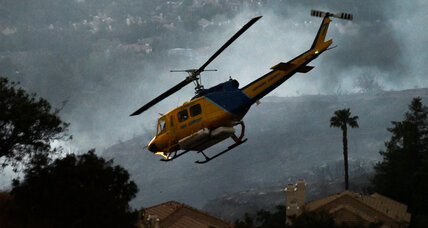 Fire crews fight to contain Calabasas' 'Old Fire'