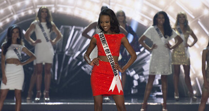 Miss USA, Army officer Deshauna Barber praises women in military