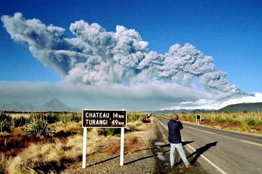 Nz North Island Volcanoes