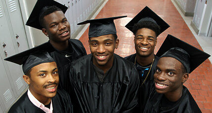 Why young black men in Waterloo, Iowa, are receiving college scholarships
