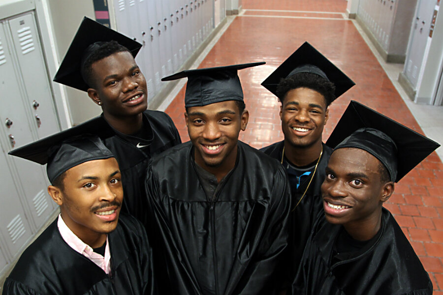Women scholarships for young black males breast strip