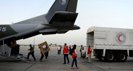 United Nations hesitates on delivering humanitarian aid by air to Syrians