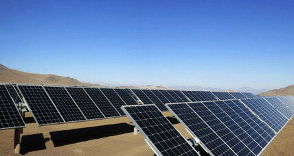 Too much renewable energy? Chile's solar panel problem.