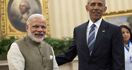 Modi and Obama push solar/nuclear energy boost for India