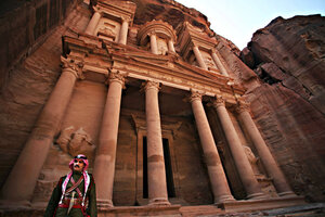 New technology reveals enormous hidden monument in Petra, Jordan ...