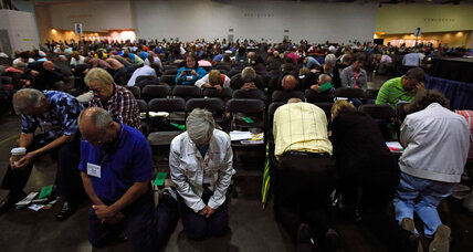 Southern Baptists face a familiar trend: emptier pews