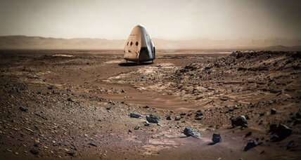 SpaceX's Elon Musk outlines plans for 'cargo route to Mars' (+video)