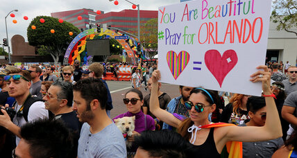 For gay community, Orlando a sign threats remain amid growing tolerance (+video)