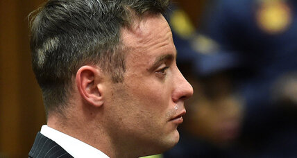 In Pistorius sentencing, a debate over remorse and mental health