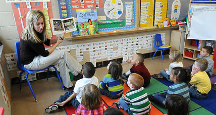 Why doesn't pay for early childhood educators stack up?