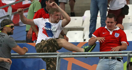 Russian hooligans rattle soccer world: What's behind their aggression?