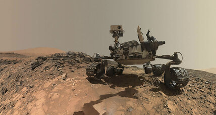 Mars had explosive volcanoes? What the Curiosity rover just stumbled upon