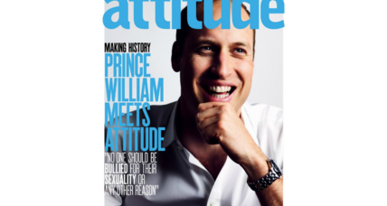 Prince William appears on cover of gay magazine, makes history