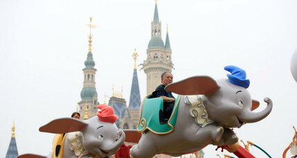 Disney opens 'distinctly Chinese' Shanghai park
