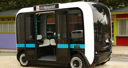 Meet Olli, America's first driverless public shuttle bus