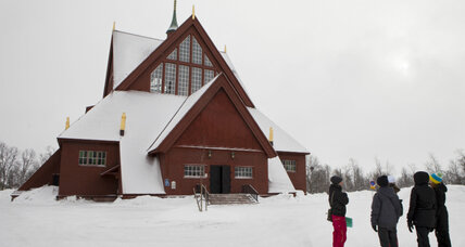 In a rush and need a wedding? Visit the Church of Sweden.