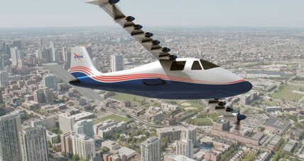 Clean skies ahead? NASA unveils electric plane.