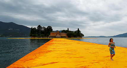 How Christo's 'Walk on Water' forces a shift in perspective