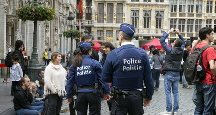 Belgium charges three men with terrorism offenses after overnight raids