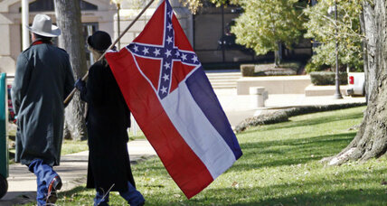 How has the Confederate flag lasted so long in Mississippi?
