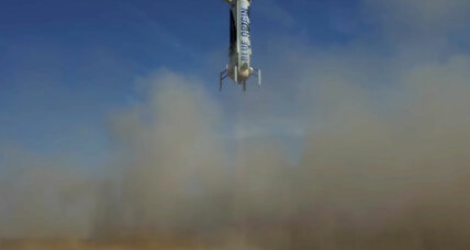 Will Bezos's Blue Origin be the first company to send tourists to space?