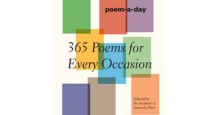 Why I read a poem a day