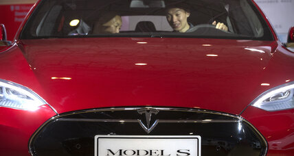 Tesla Model S can 'turn into a boat' briefly, Elon Musk says